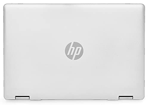 mCover Hard Shell Case Compatible with 2020 14' HP Pavilion x360 14-DHxxxx Series ( NOT Compatible with Other HP Pavilion Series ) Convertible laptops (HP Pav-x360-14-DH Clear)