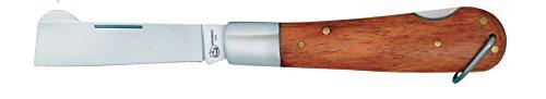 Imex El Zorro 54017 - Coltello per innesti, 8 cm, Colore: Marrone