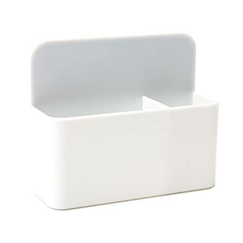 DUESI Marcadores magnéticos para pizarra blanca, organizador para lápices, contenedor de almacenamiento, suministros escolares