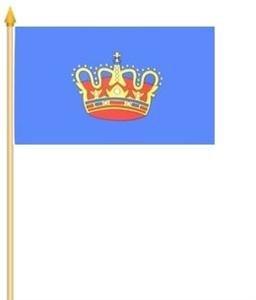 Stockfahne Fehmarn Fahne Flagge Grösse 30x40cm - FRIP –Versand®