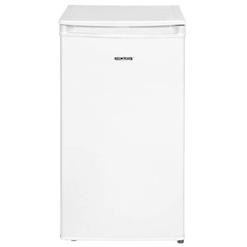 Exquisit Kühlschrank KS 86-9 A+Top | 80L(70/10) L Fassungsvermögen | Energieeffizenzklasse A+ | Weiß