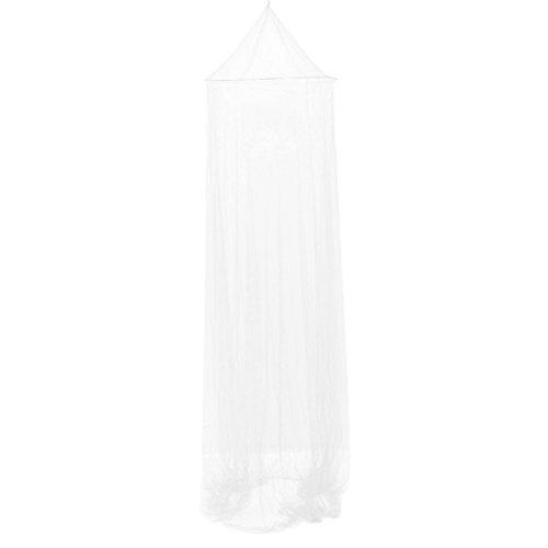 VORCOOL Prinzessin Moskito Netzvorhänge Schnüren Bett Baldachin Premium Moskitonetz (Weiß)
