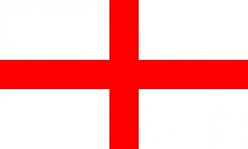 England Flag 3ft x 2ft Medium - 100% Polyester - Metal Eyelets - Double Stitched by Perfectflags
