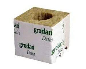 grodan Delta DM4G 10個セット 定植用ロックウールブロックは水耕栽培キットに使用可能