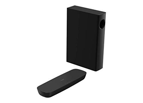 Panasonic SC-HTB250 Barra de Sonido (Inalámbrico y alámbrico Con Subwoofer Hogar, 2.1 Canales, Altavoz Soundbar, 120 W, DTS Digital Surround,Dolby Digital, 80 W, 5,08 cm (2