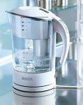 BRITA Acclario Wasserkocher mit Wasserfilter weiß mit Teetresor