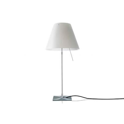 LUCEPLAN - COSTANZINA LED lampada da tavolo BIANCO (lampadina led inclusa)