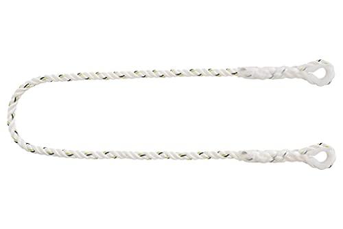 Cuerda de seguridad para arnés I Medida en 1,5m I Ø 12mm I Resistencia rotura 22kN I Con hebillas y guardacabos