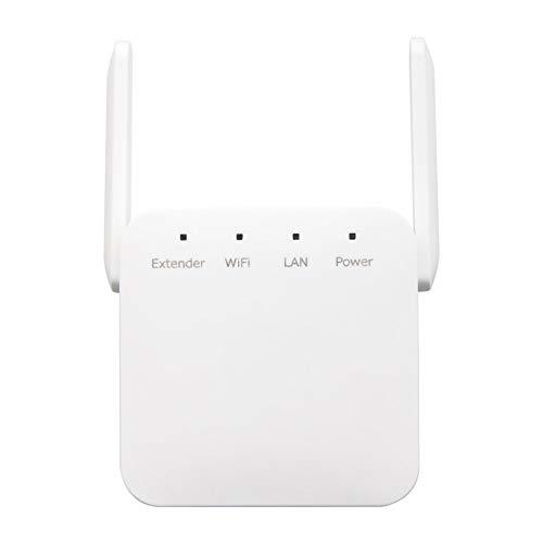 YMXLJJ Repetidor Inalámbrico WiFi, Extensor De WiFi 300Mbps, Amplificador De WiFi Amplificador De Ruta De Señal WiFi De Largo Alcance, Extensor De Rango De Red De Señal Ap De Banda Dual 2.4G 5G