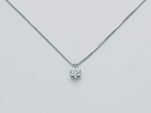 Miluna Collana Oro Bianco 18kt Diamanti - CLD4070S