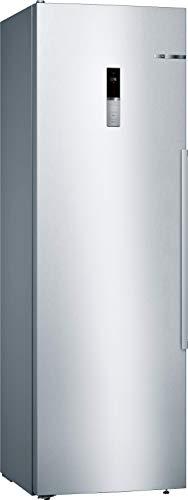 Bosch KSV36BIEP Serie 6 Freistehender Kühlschrank / A++ / 186 cm / 112 kWh/Jahr / Inox-antifingerprint / 346 L / SuperKühlen / EasyAccess Shelf