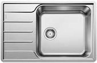 Blanco LEMIS XL 6S-IF Compact ohne Bohrung Farbe: Edelstahl Bürstfinish