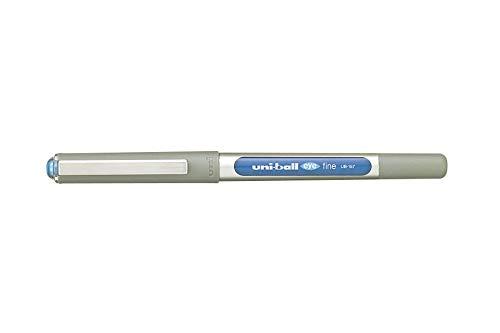 Uni-Ball EYE UB-157 - Penna roller, colore: azzurro, confezione da 3, misura media, tratto: 0,7 mm