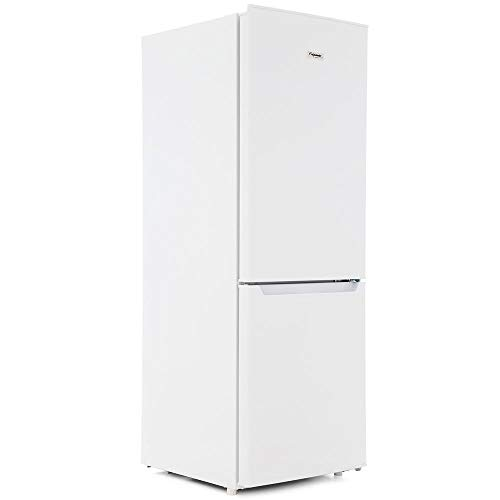 Fridgemaster MC50165 165 Litre Freestanding Fridge Freezer 60/40 Split A+ Energy Rating 49.5cm Wide - White