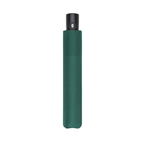 Zero*Magic der Ultra leichte & kompakte Regenschirm von doppler mit Auf-Zu Automatik bei Einem Gewicht von nur 176 Gramm Evergreen
