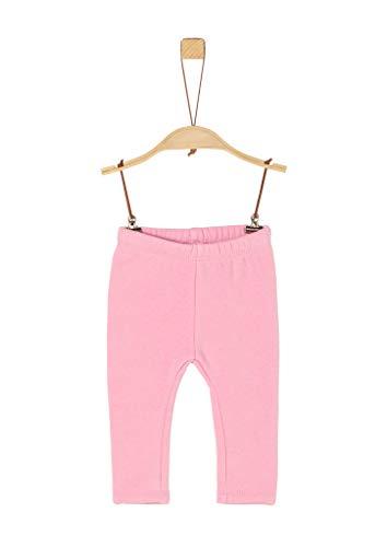 s.Oliver Unisex - Baby Einfarbige Jersey-Leggings Light pink 74.REG
