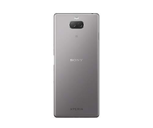 """Sony Xperia 10 - Smartphone débloqué 4G (Ecran : 6"""" - 64 Go - Double Nano-SIM - Android) – Argent"""
