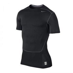 Nike Pro Combat Hypercool F010 - Camiseta de compresión de manga corta (talla S)
