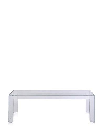 Kartell Invisible Side Mesa, Transparente (Crystal), 120x31.5x38 cm