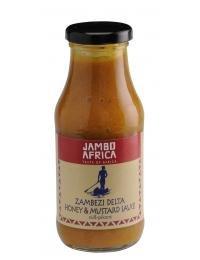 Jambo Africa Zambezi Delta Honey & Mustard Sauce 250 nl