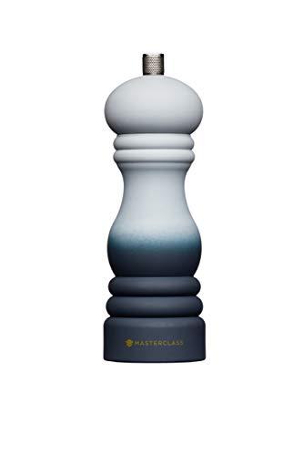MasterClass MCSNPOMBGRY17 - Molinillo de pimienta o sal con tapa intercambiable (17 cm)