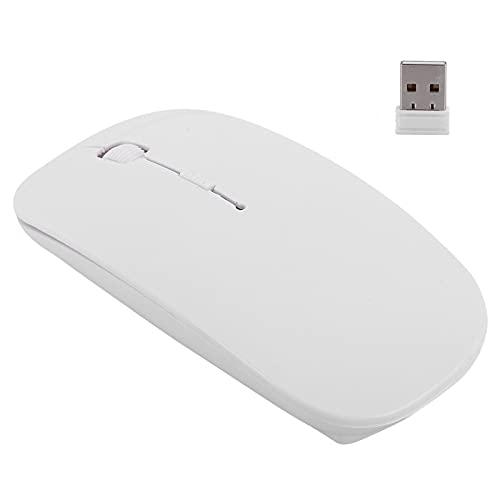 Shipenophy Ratón para Ordenador portátil de 2,4G, ratón inalámbrico, ratón de Escritorio Estable, ratón de Oficina inalámbrico portátil para Ordenador portátil para Tableta