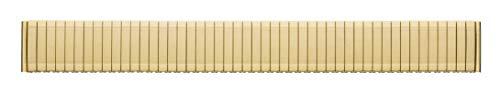 Eichmüller Edelstahl vergoldet matt Zugband Flexband E049 22mm