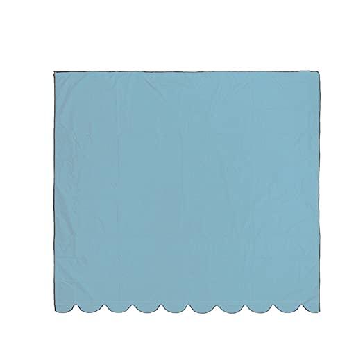 WEARRR Cubierta de toldos Topper Impermeable Cubierta Reemplazo del Dosel para el jardín Hogar Patio Césped Toldo al Aire Libre Sun Shade Shelter Funda de Tela (Color : Blue150cmx200cm)