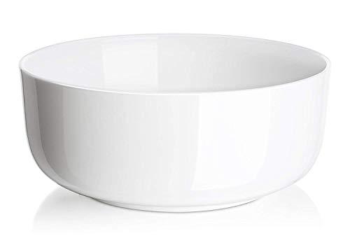 DOWAN 1-1/2 Quarts Porcelain Serving Bowls, 2-Pack