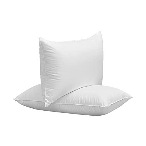 BeAUZQ Almohadas de Cama de Calidad de Hotel de Lujo 1 Paquete, Almohadas de Cama alternativas de Fibra Suave Premium, Funda hipoalergénica y Resistente a los ácaros del Polvo Lavable,Medium Pillow
