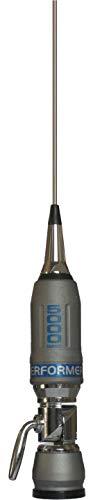 Sirio Antenne P-5000 PERFORMER, Antenna CB Veicolare, Frequenza 27-30MHz, Potenza Massima 5000 Watts (CW) Short Time, Stilo Inox, Inclinabile 180°, Altezza 1,965mt, Cavo 4mt in dotazione
