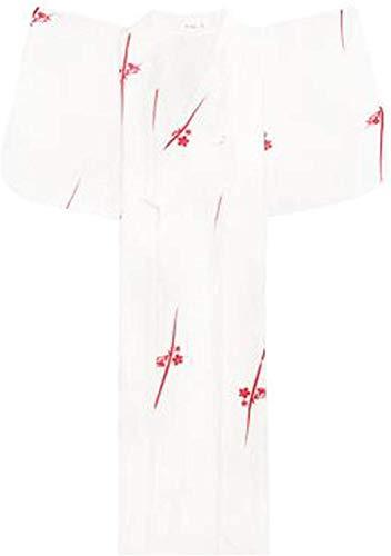 Dresses Bathrobe Costume Girl Cardigan Long V Neck Party Japanese White Kimono Woman...