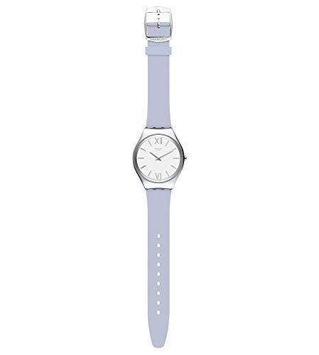 Swatch Reloj Analógico para Mujer de Cuarzo con Correa en Silicona SYXS125C