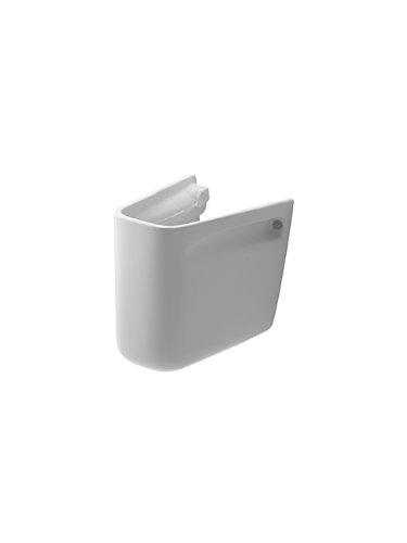 Duravit Halbsäule zu Waschtisch D-Code 55, 60 und 65 cm, weiss, 0857180000
