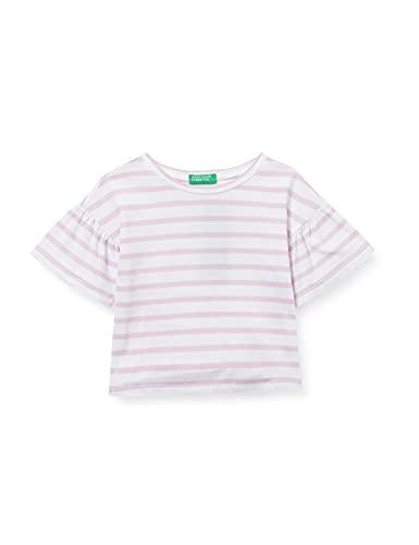 United Colors of Benetton (Z6ERJ T-Shirt 3OO6C14KL Camiseta, BLU 901, 12 Meses para Bebés
