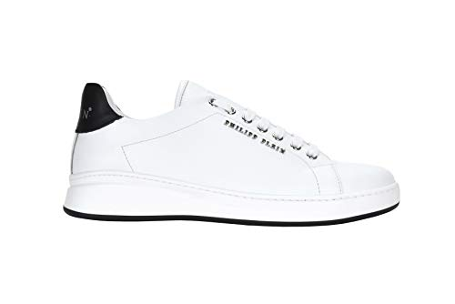PHILIPP PLEIN 2552 Sneaker W Herren Men Shoes, Weiß - Bianco - Größe: 46 EU