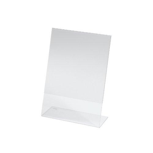 SIGEL TA212 Tischaufsteller schräg, für A5, glasklar Acryl - weitere Größen
