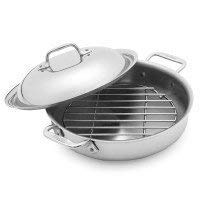 All-Clad 3 Qt. Steam and Sear with Rack & Domed Lid
