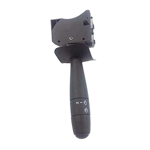 wuwu Interruptor de limpiaparabrisas en forma para RENAULT DAVIA LOGAN 345920013AR 8200213173 (Color : Black)