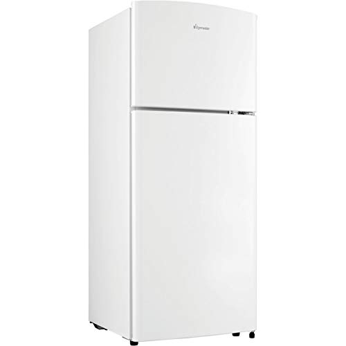 Fridgemaster MTM48120 120 Litre Freestanding Fridge Freezer 80/20 Split A+ Energy Rating 50cm Wide - White