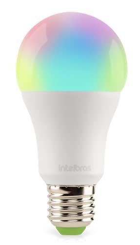 Smart Lâmpada Inteligente Intelbras EWS 410 com 16 milhões de cores Casa Inteligente Wi-Fi