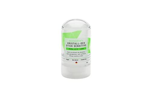 Desodorante Stick Kristall Sensitive -60g - Alva Naturkosmetik, Alva Naturkosmetik, Incolor, 60 Ml