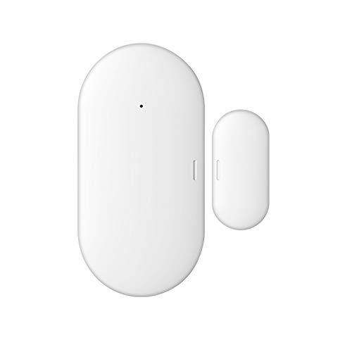 KKmoon Sensor de Puerta ZigBee eWelink, Control Remoto de la App eWelink, Sensor de Alarma, Interruptor Magnético, Detector Inalámbrico