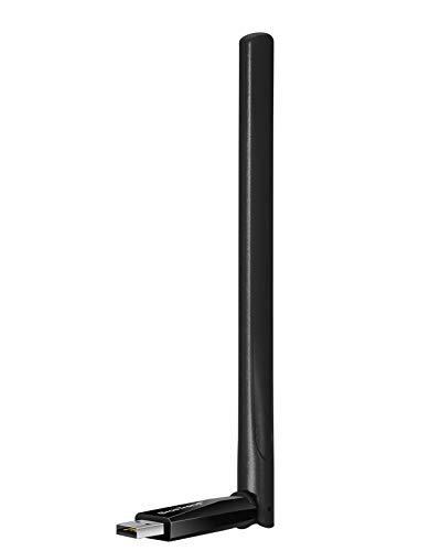 BrosTrend AC5 Adaptador Wi-Fi USB, Antena WiFi AC 650 Mbps 5 dBi,...