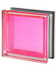 5 piezas Seves vitroladrillos Mendini Coral metalizado 19 x 19 x 8