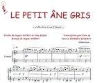 Partition : Le petit âne gris - Piano et paroles