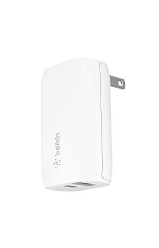 Belkin 充電器 USB-C 32W(20W USB-C + 12W USB-A) PD 急速充電 iPhone 12 / 11 / SE/iPad/Androidスマホ各種対応 BOOST↑CHARGE WCB004dqWH-A