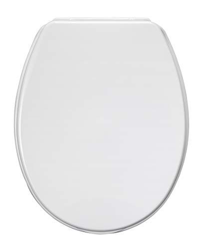 Allibert 819623 WC-Sitz, Pésine, weiß, 36,2 x 4 x 44,5 cm