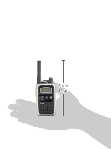 『アイコム 特定小電力トランシーバー 47ch中継タイプ メタリックシルバー IC-4300S』のトップ画像