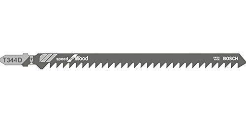 Bosch Stichsägeblätter T 344 D | Gesamtlänge (mm): 152 | Typ: T344D | VPE (Stück): 5